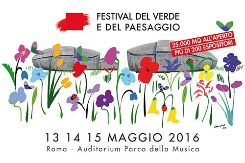 13-14-15 Maggio l'Orto Botanico al Festival del Verde e del Paesaggio