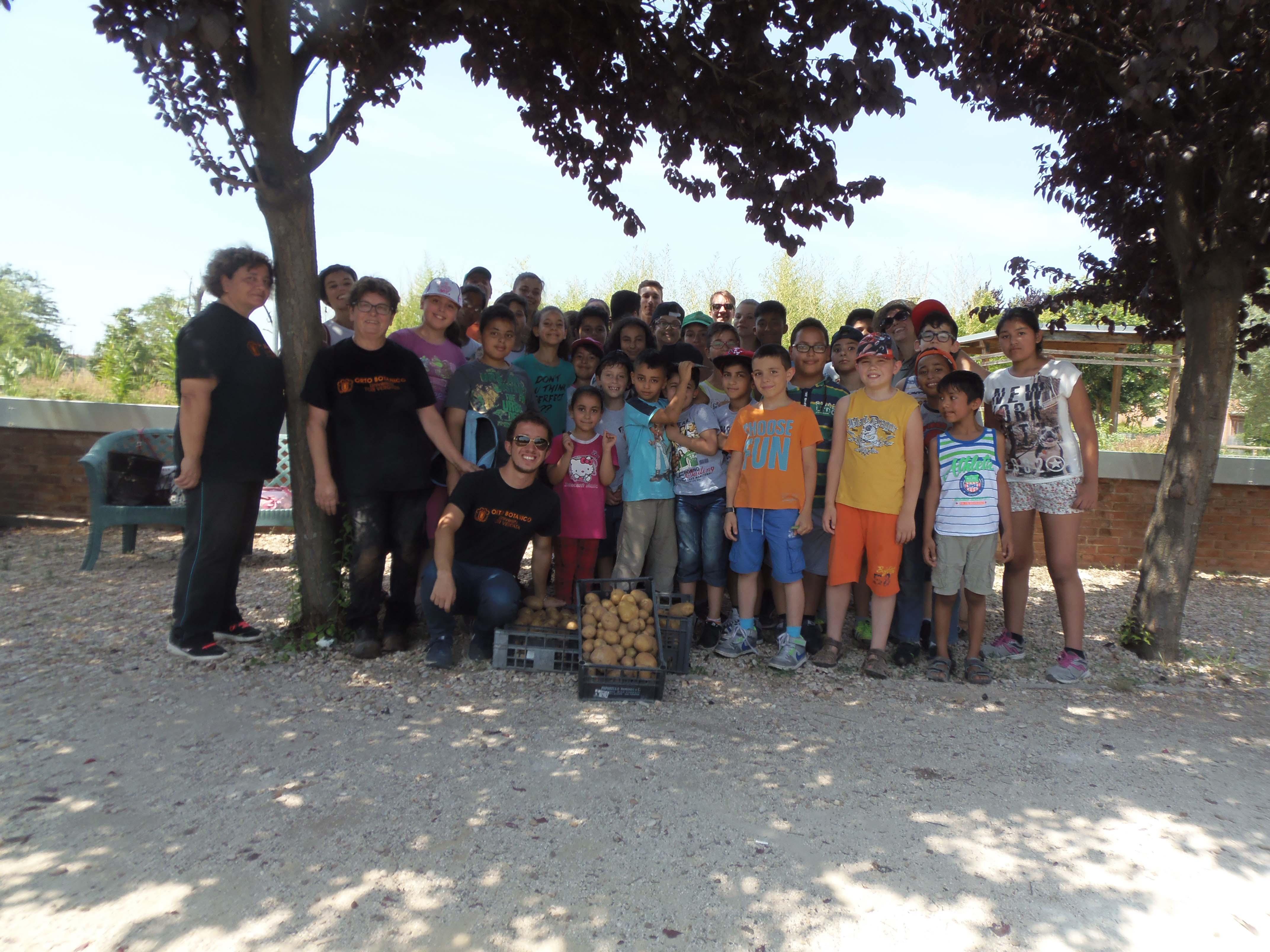 L'educazione è un bene di tutti: L'Orto Botanico insieme a Save the Children.