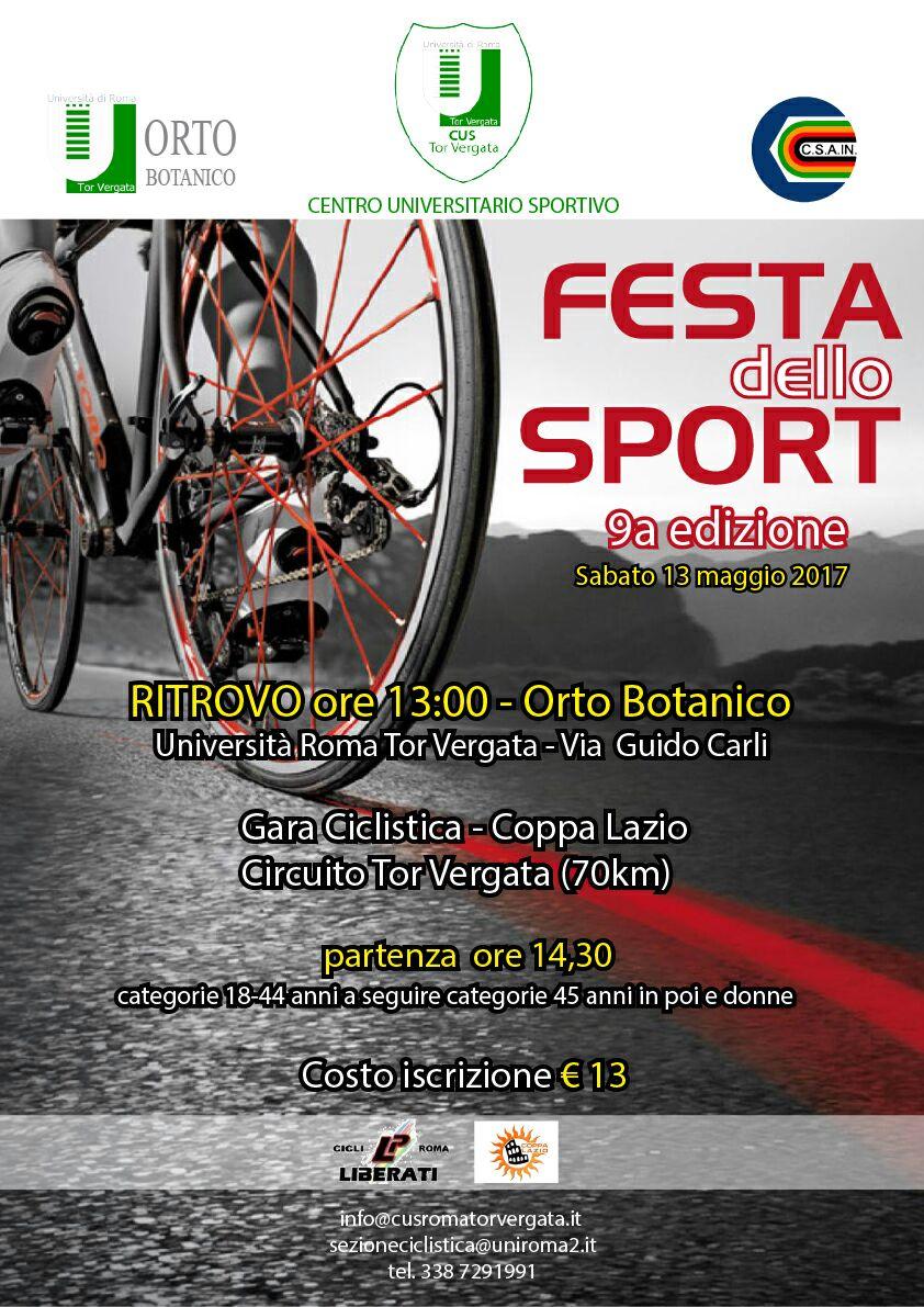 13 Maggio 2017-Gara Ciclistica-Coppa Lazio