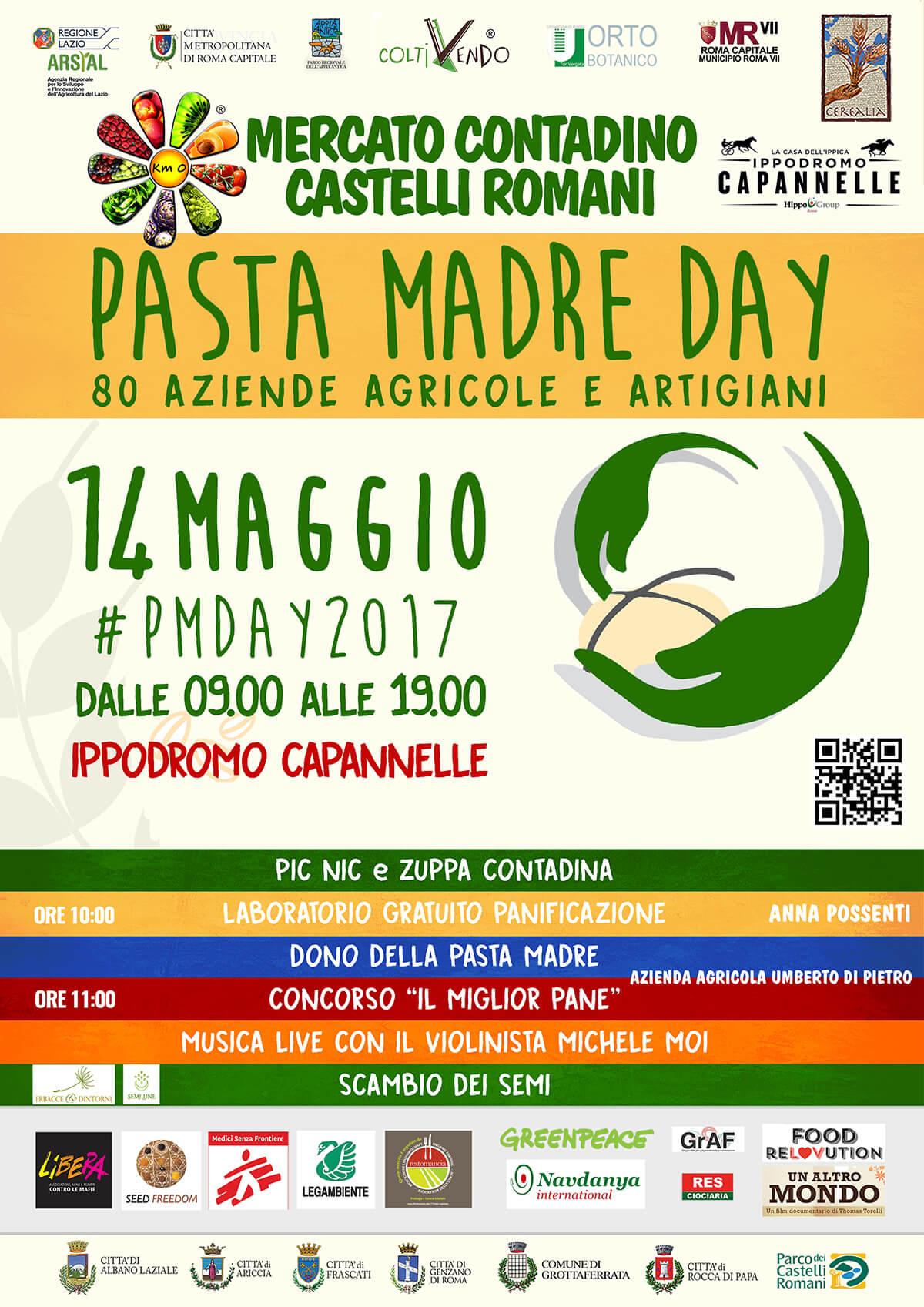 14 Maggio Pasta Madre Day a Capannelle