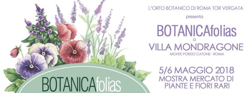 BOTANICAfolias a Villa Mondragone
