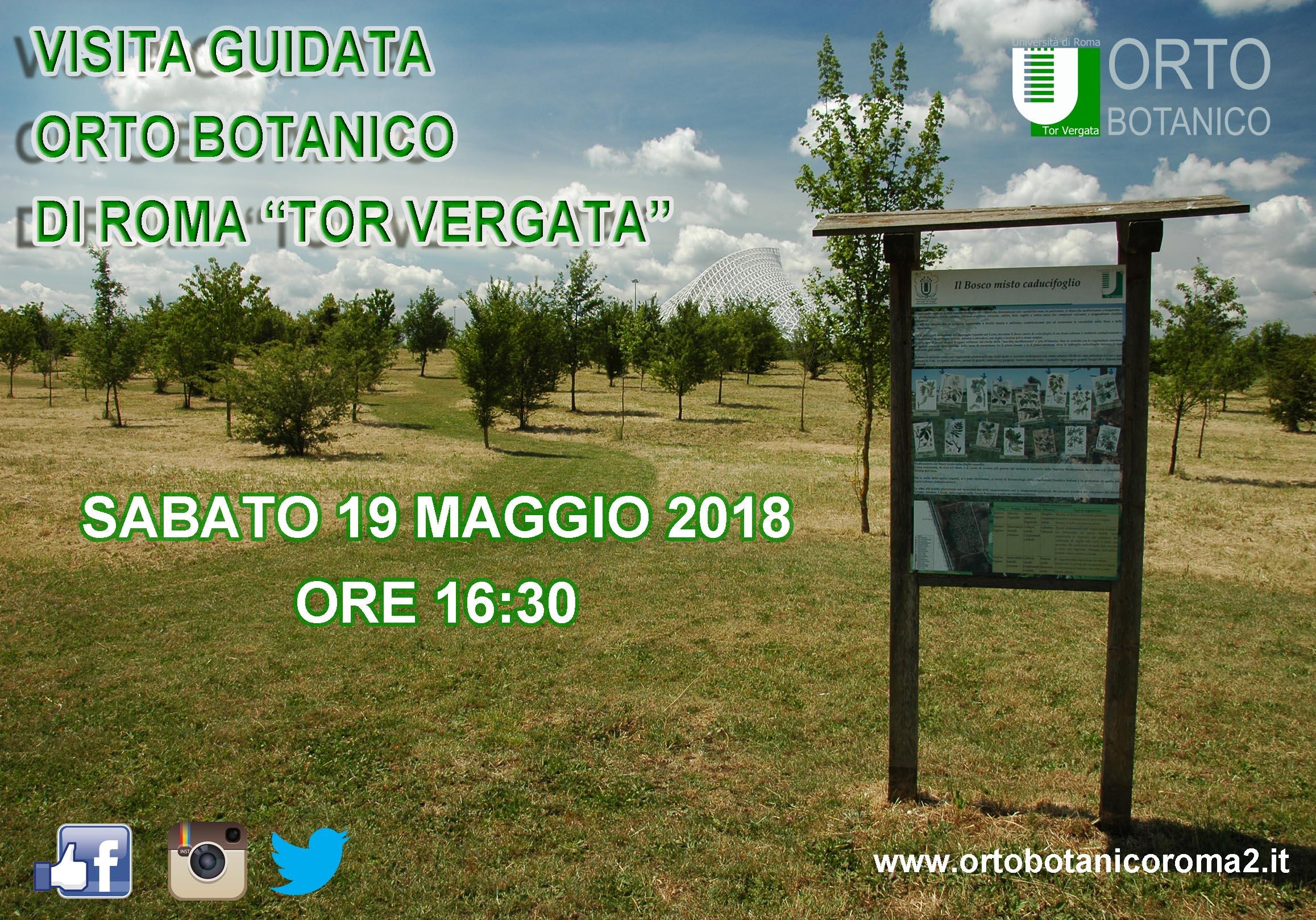 "Visita Guidata Orto Botanico di Roma ""Tor Vergata"""