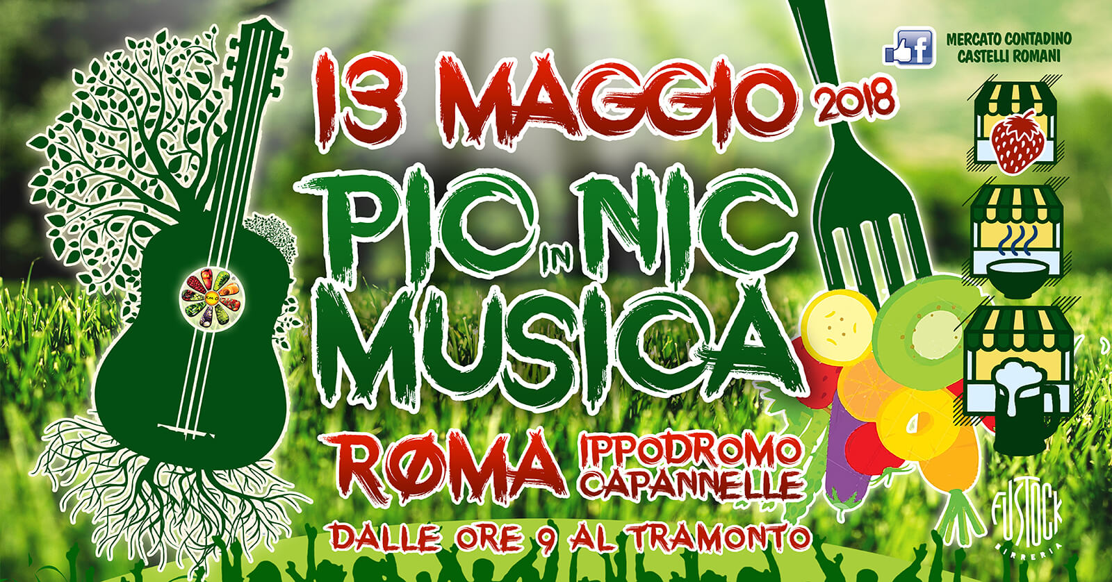 PIC NIC in Musica a Capannelle