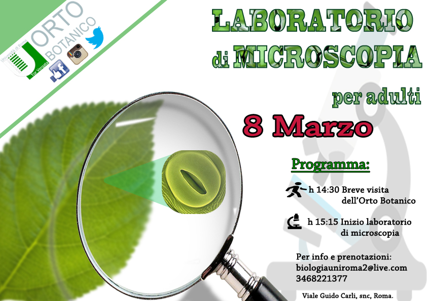 Laboratorio di microscopia per adulti