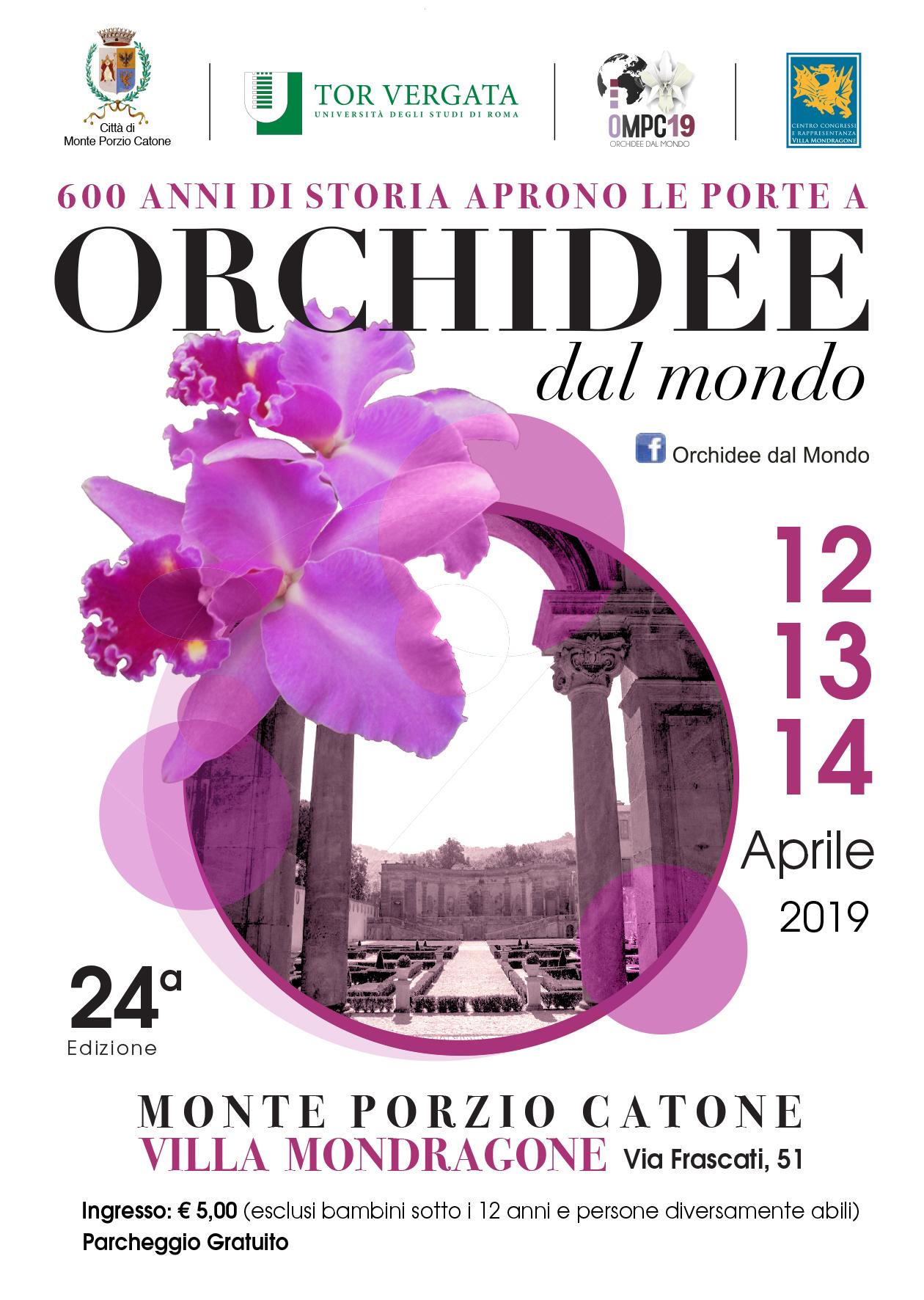 12-13-14 aprile – Orchidee dal Mondo