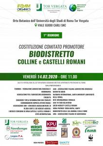 Comitato Biodistretto 14 feb 2020