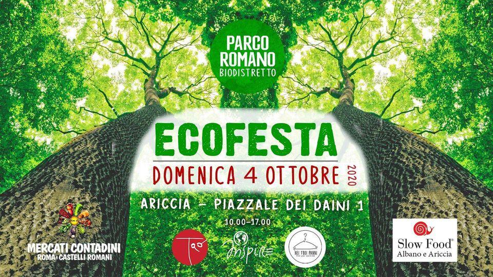 ECOFESTA al Parco Romano Biodistretto di Ariccia