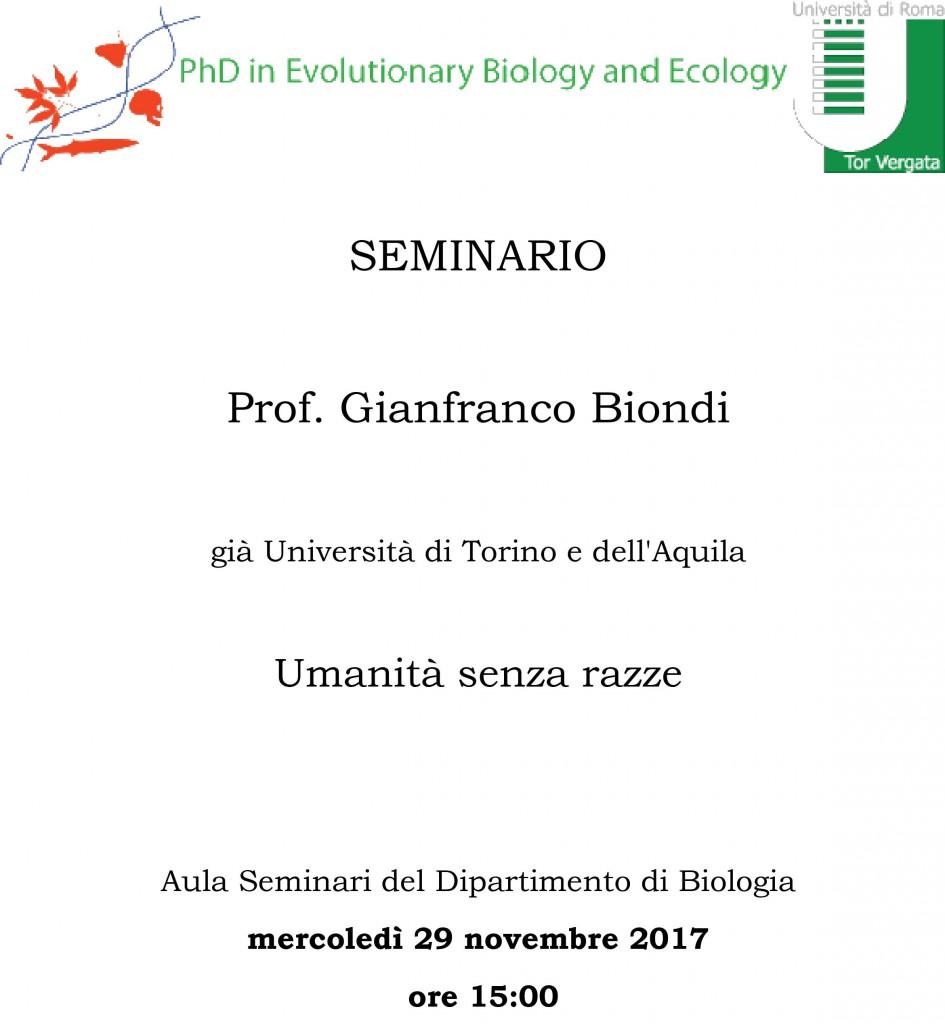 Seminario Gianfranco_Biondi