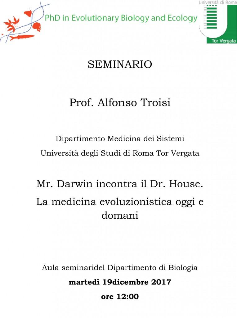 Seminario Alfonso Troisi