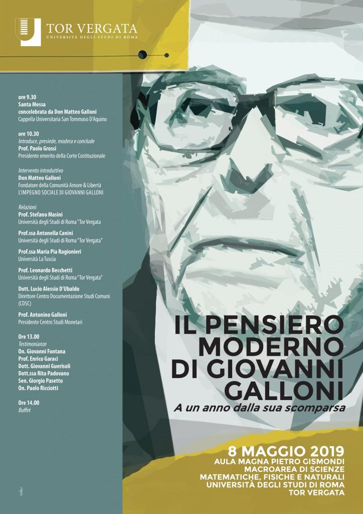 Convegno Giovanni Galloni