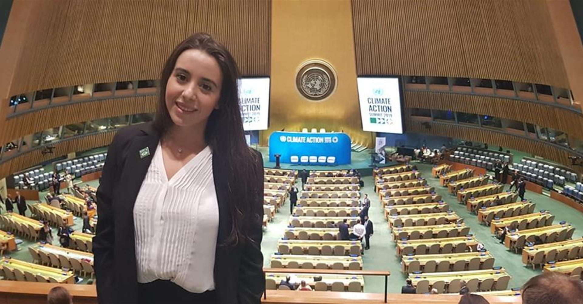 """E' una nostra studentessa l'unica rappresentante italiana allo """"Youth Climate Summit"""" di New York, primo vertice ONU dei giovani."""