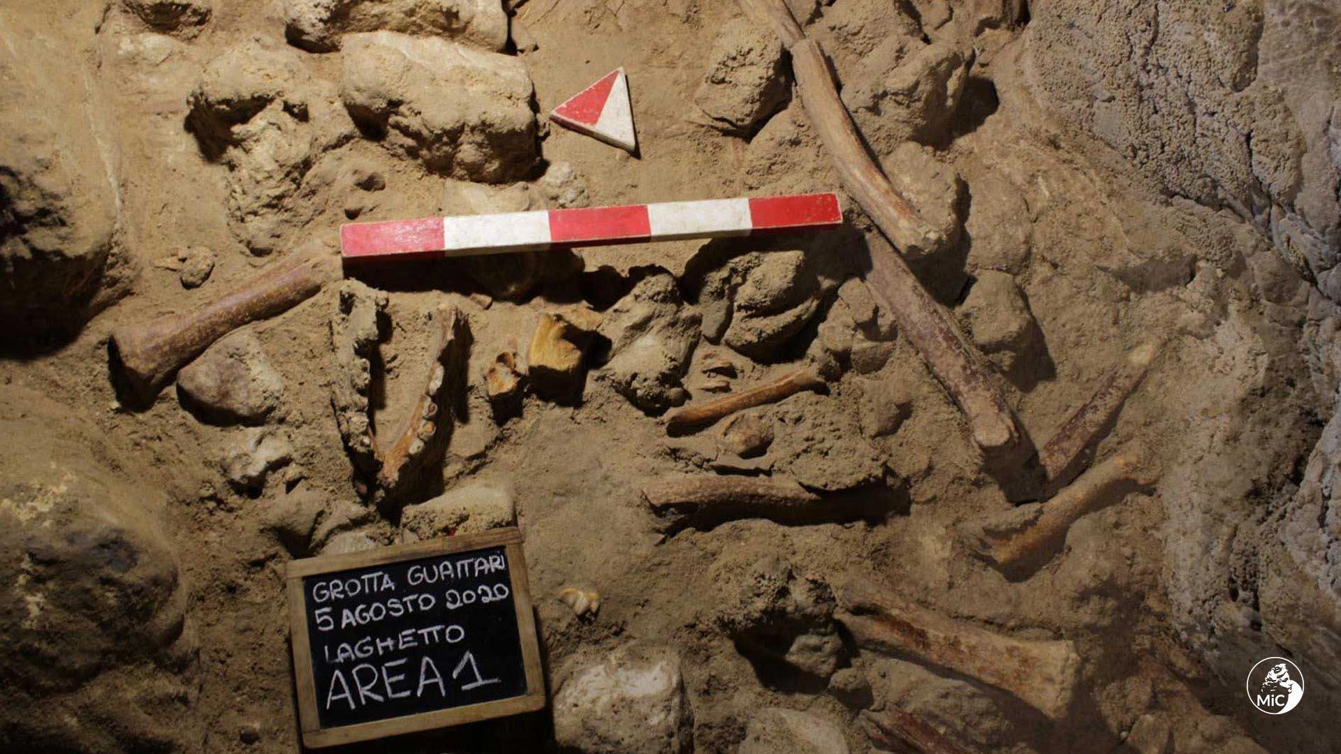 Circeo, ritrovati i resti di nove uomini di Neanderthal nella Grotta Guattari